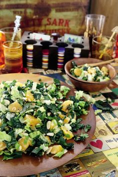 Make this healthy California citrus and almond salad from 'Thug Kitchen Party Grub' (Rodale Books), a collection of party-ready vegan recipes.