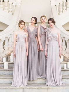 Read More on SMP: http://www.stylemepretty.com/2016/03/09/jenny-yoos-2016-bridal-bridesmaid-and-flower-girl-collection/