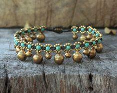 En Bois Perles Ressort Spiral Bracelet avec 2 cloches en bois Fashion Jewelry Violet Seed