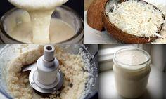 Manteiga de coco é mais saudável que margarina e manteiga comum - e fica pronta em apenas 15 minutos!