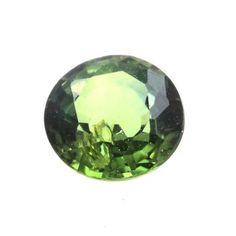Saphir vert non chauffé 0.34 carats