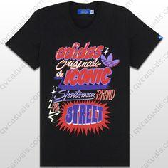 adidas Originals Mens G Original Iconic Trefoil T-Shirt at QV casuals. Save on a huge range of big brand tees.
