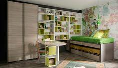 Decoración para las paredes del dormitorio juvenil. Tendencias 2013