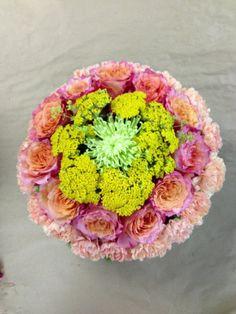 biedermeier flower arrangement
