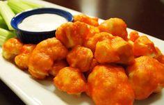 Hot Wings Vs. Vegan Cauliflower Hot Wings | 15 Veganized Versions Of Your Favorite Foods