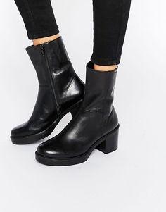 Image 1 ofVagabond Tilda Black Ankle Boots