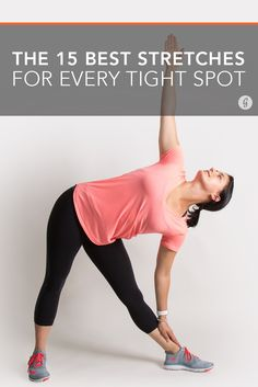 Whether you're sore post workout or just from day-to-day living, these moves will help you... #fitness #stretches #yoga http://greatist.com/move/best-stretches-for-tight-spots