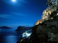 Hotel Caesar Augustus in Capri, Italy - The Most Precariously Perched Hotels : Condé Nast Traveler