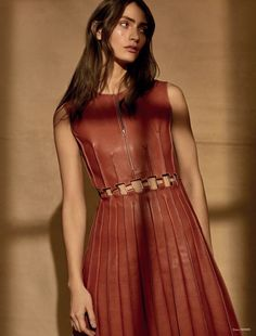 THE SUPERFICIAL STYLE - Marine Deleeuw by Lara Jade for Mojeh Magazine,...