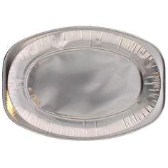 Lille Oval Folie Platter - Pakke med 10
