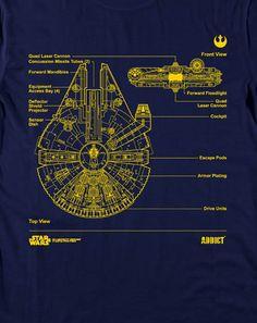 star wars blueprints shirts