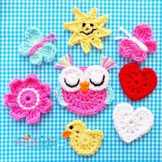 Mixed Applique Crochet Pattern