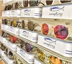 Saraghina Eyewear from Italy with brilliant packaging: Tins of Sardines (I have Pale Pink)