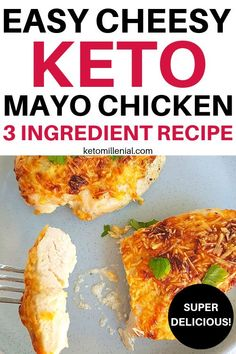 Crazy-delicious baked parmesan chicken with mayo recipe that's low carb, keto and easy to make. This yummy low carb parmesan chicken with mayo is ready in less than 45 minutes and only takes a few minutes or prep time. Try a baked chicken breast with mayo Chicken Mayo Parmesan, Mayo Chicken, Baked Chicken With Mayo, Ketogenic Recipes, Diet Recipes, Healthy Recipes, Ketogenic Diet, Dessert Recipes, Lunch Recipes