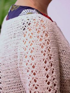 Free Crochet Pattern for a Cardigan - Imogen