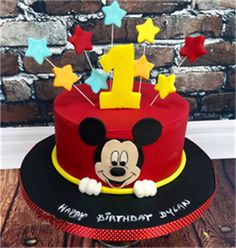 birthday mickey street mouse cakes caker cake kids Mickey mouse cake Kids Birthday Cakes Mickey Mouse Birthday Cake Caker StreetYou can find Mickey cakes and more on our website Pastel Mickey Mouse Niño, Bolo Do Mickey Mouse, Mickey And Minnie Cake, Fiesta Mickey Mouse, Bolo Minnie, Mickey Cakes, Minnie Mouse Cake, Mickey Mouse Cake Decorations, Mickey Birthday Cakes