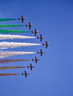 Aerobatics is a fun-to-watch stunts and flight maneuvers executed by professional pilots around the world. They usually perform in several air shows by teams pr Independence Day Images Hd, Independence Day India, 26 January Image, 15 August, National Flag India, All God Images, Plane Crafts, Indian Flag Images, Indian Flag Wallpaper