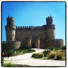 Castillo de Manzanares el Real. España