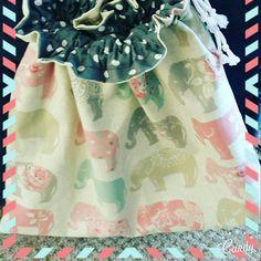 Drawstring bag by LillianaDesignsUK on Etsy My Etsy Shop, Toys, Bag, Shopping, Check, Activity Toys, Clearance Toys, Gaming, Games