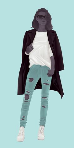 The Grunge // Jack Hughes Illustration for Stylist France