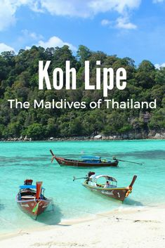 Koh Lipe : The Maldives of Thailand
