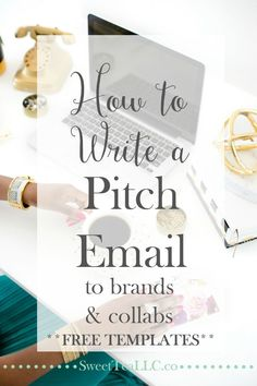 Want to reach out to brands or create an epic collaboration but not sure what to say in your email? Learn how to write the perfect pitch email to brands & collaborators PLUS download FREE templates for each one!