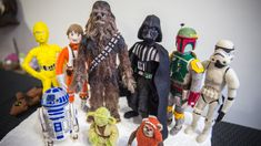 Making Needle Felted Star Wars Characters!