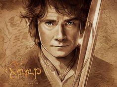 The Hobbit, Martin Freeman as Bilbo Baggins