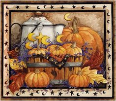 Autumn - painting by Diane Knott for Legacy Publishing Group calendar