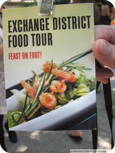 Feast on Foot - a tour of great restaurants in Winnipeg's historic Exchange District Great Restaurants, Canada, Tours, Vegetables, Travel, Food, Viajes, Veggies, Vegetable Recipes