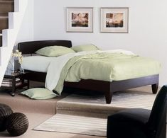 Alerion Hardwood Platform Bed- Espresso.  This company makes THE best quality beds!  My second Charles P. Rogers purchase.