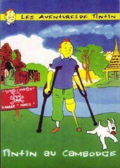 [fake] Tintin au Cambodge