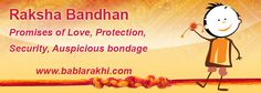 Find the best #RakshaBandhan #article (Raksha Bandhan- Promises of Love, Protection, Security, Auspicious bondage)