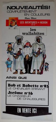 Nero - raamaffiche - Les wallabites - (1968) - W.B.