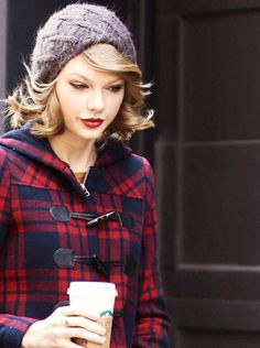 Gorgeous picture of my favorite girl Taylor. Love the beanie and flannel