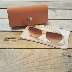 Today Only $125 for NWOT Authentic TB Sunglasses Tory Burch Aviator Sunglasses.  NWOT.  Style Number TY 6035. Tory Burch Accessories Sunglasses
