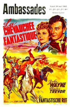 CARTELES DEL CINEMA: LA DILIGENCIA (Stagecoach, 1939), de John Ford