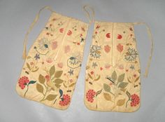 Textiles (Clothing) - Pocket, 1750-1775
