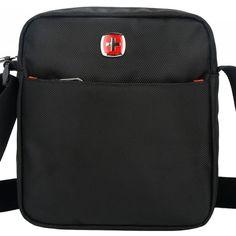 SCOGOLF borse a tracolla nera per gli uomini borse messenger in nylon impermeabile borsa crossbody/autorizzazioni stoccaggio 5600