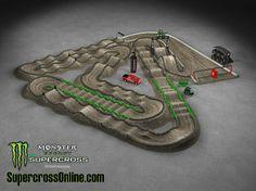 2014 Monster Energy AMA Supercross Track - Oakland