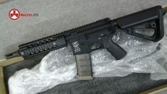 Magpul PTS X G&P Metal Aggressor-T Assault Rifle AEG (Black) -Full Metal Ergo Z Float Rail hand guard with a 10.5 inch one-piece outer barrel -Comes with Metal Standard M4 Upper frame and Lower Frame in LMT marking http://airsoft.tiger111hk.com/p24277/M/product_info.html