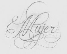 Beautiful Calligraphy by Wanda Pot | Abduzeedo Design Inspiration & Tutorials