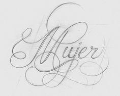 Resultado de imagen para built up calligraphy