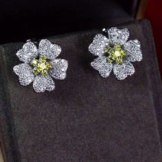 Zircon Earring JHZ-454 USD40.86, Click photo for shopping guide and discount