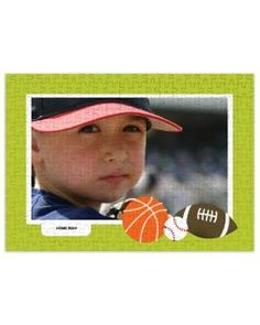 Sports - 252 Piece Personalized Puzzle