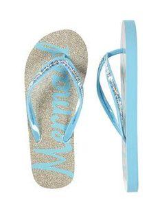 997fadc4d886 Mermaid Glitter Flip Flops  flipflopsshoes Cute Flip Flops