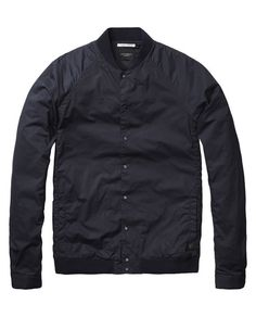 Bomber Shirt Jacket  - Scotch & Soda