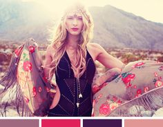 *Lovely Clusters - The Pretty Blog: Color Inspiration: Mickey's Girl
