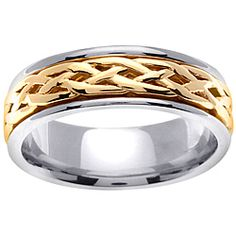 @Overstock.com - Celtic design men's wedding band14-karat two-tone gold jewelry Click here for ring sizing guidehttp://www.overstock.com/Jewelry-Watches/14k-Two-tone-Gold-Mens-Celtic-Design-Wedding-Band/6308678/product.html?CID=214117 CAD              991.52