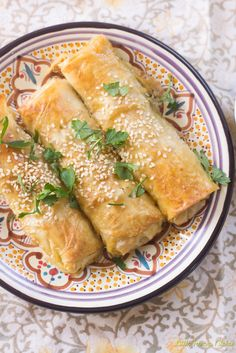 Turkish Eggplant Borek.